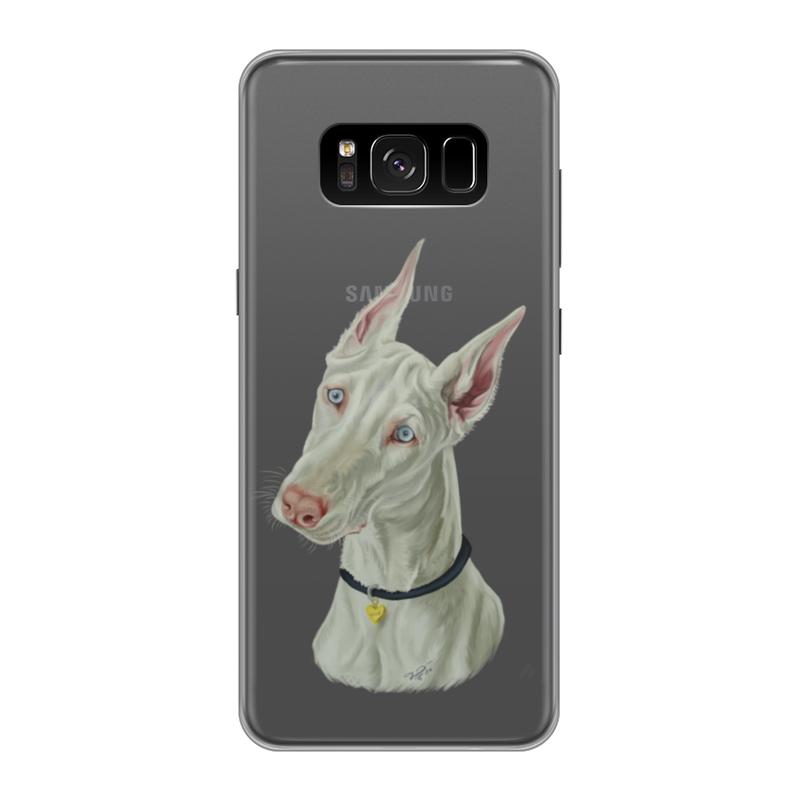 Чехол для Samsung Galaxy S8, объёмная печать Printio Доберман чехол силиконовый последний богатырь для samsung s8
