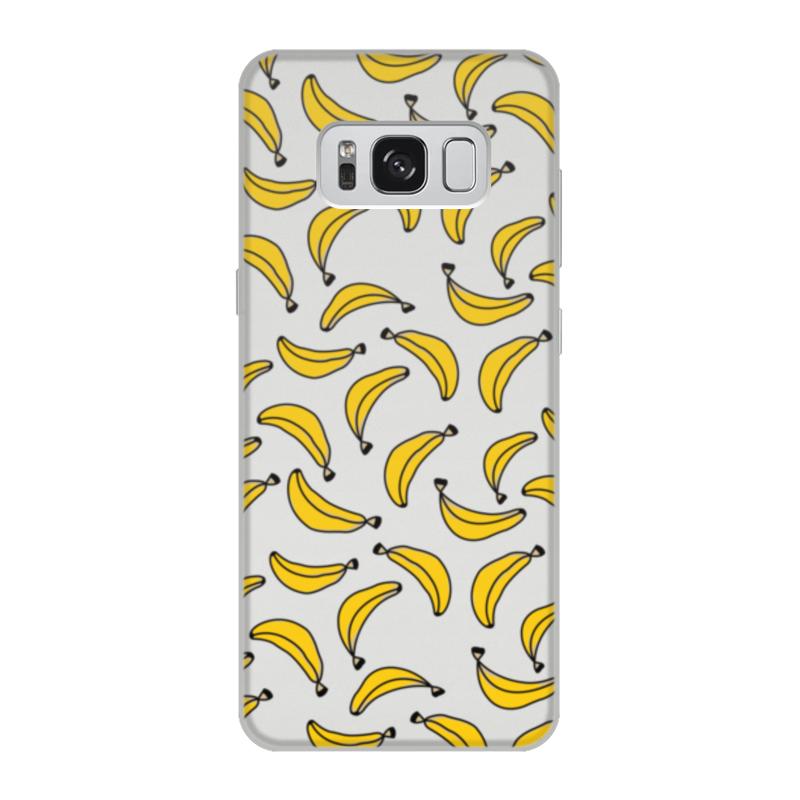 Чехол для Samsung Galaxy S8, объёмная печать Printio Бананы