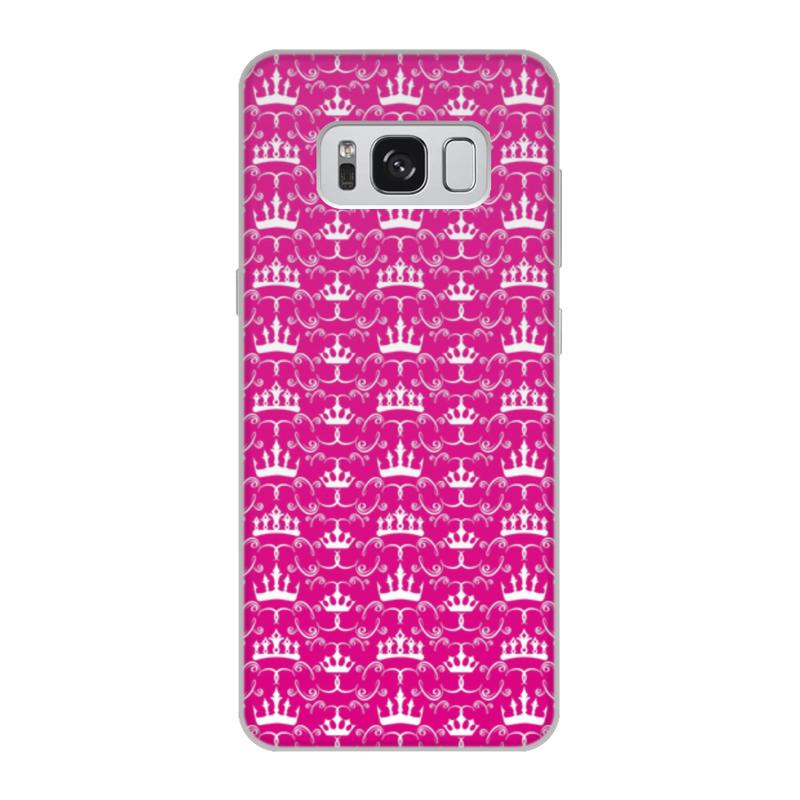 Чехол для Samsung Galaxy S8, объёмная печать Printio Короны принцесс