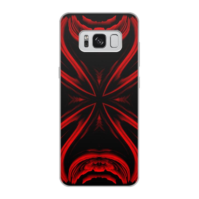 Чехол для Samsung Galaxy S8, объёмная печать Printio Красная ртуть мика ртуть жена проклятого князя