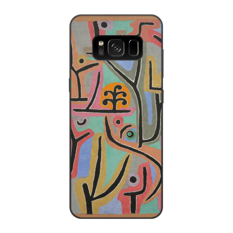 лучшая цена Чехол для Samsung Galaxy S8, объёмная печать Printio Парк возле лю (пауль клее)