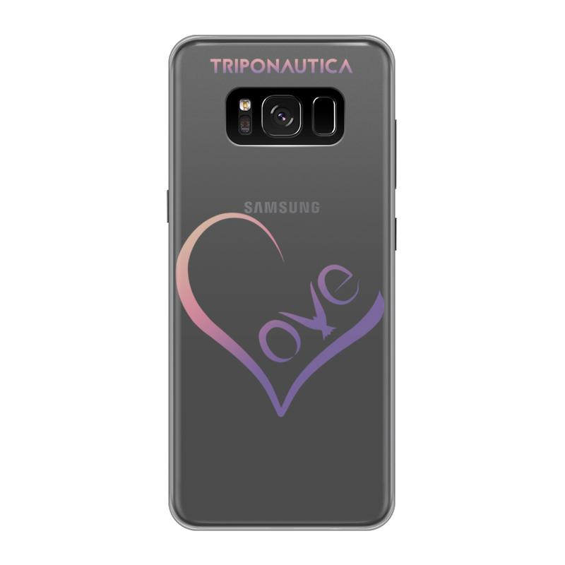 Фото - Чехол для Samsung Galaxy S8, объёмная печать Printio Lovesung pink samsung galaxy tab e sm t561 black