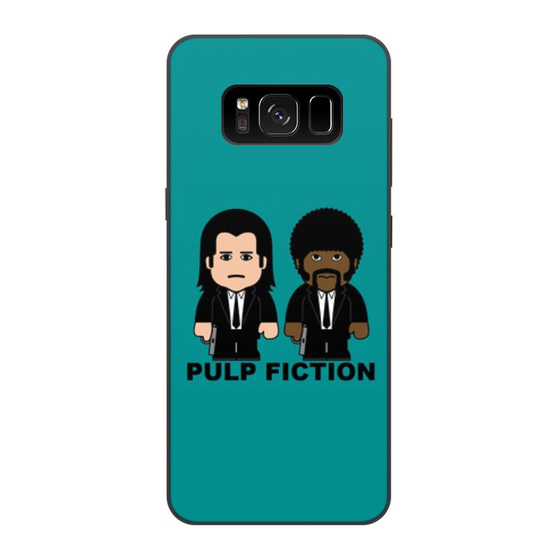 Чехол для Samsung Galaxy S8, объёмная печать Printio Pulp fiction цена