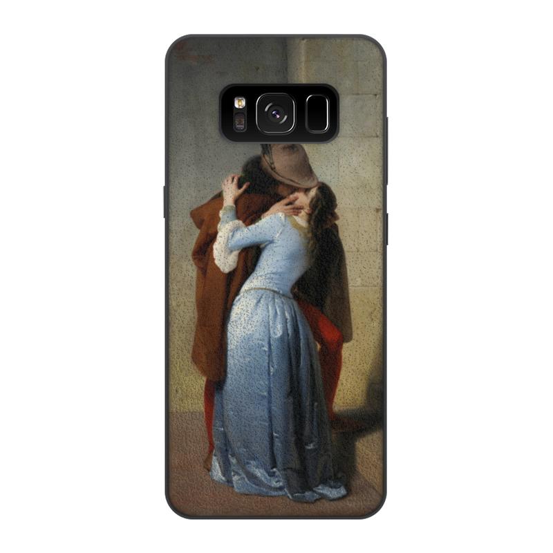 Чехол для Samsung Galaxy S8, объёмная печать Printio Поцелуй (франческо айец) тетрадь на скрепке printio поцелуй франческо айец