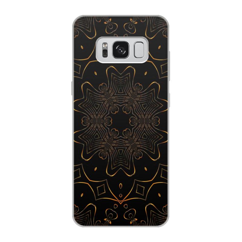 Чехол для Samsung Galaxy S8, объёмная печать Printio Золотая вязь чехол для samsung galaxy s8 объёмная печать printio cycles perfecta альфонс муха
