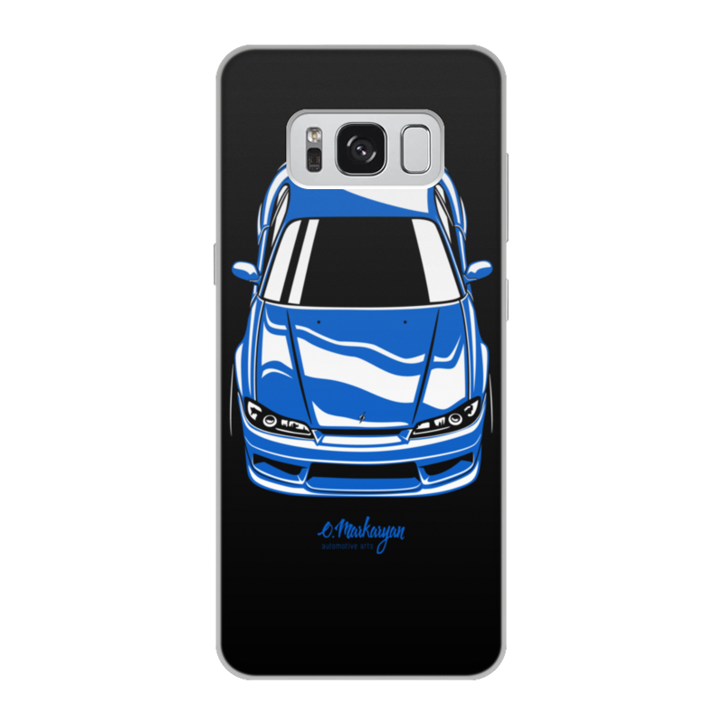 лучшая цена Чехол для Samsung Galaxy S8, объёмная печать Printio Silvia s15