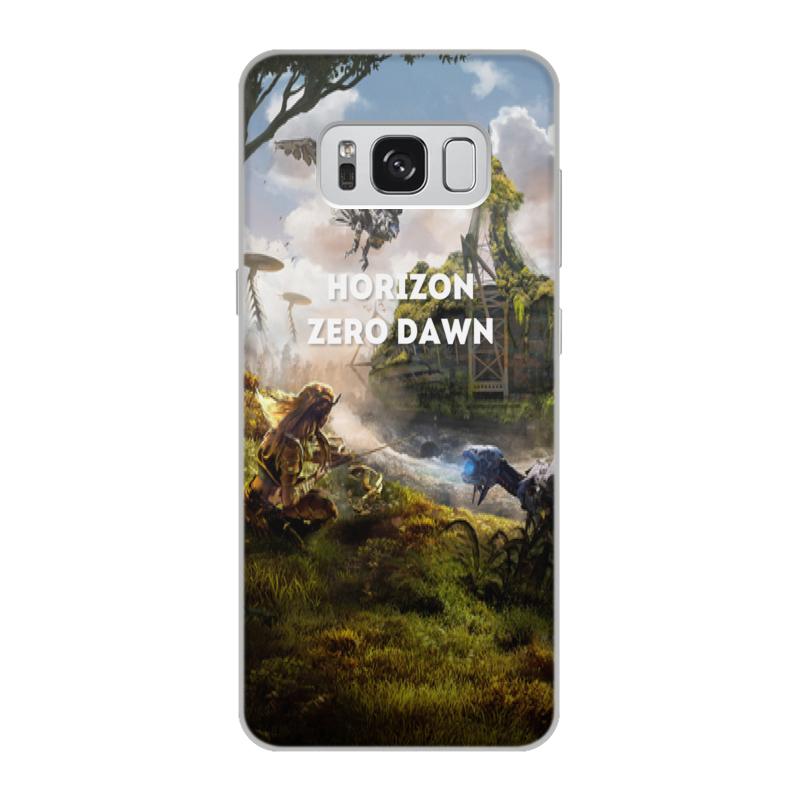 Чехол для Samsung Galaxy S8, объёмная печать Printio Horizon zero dawn чехол для samsung galaxy s8 объёмная печать printio любимой на 14 февраля