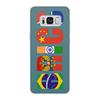 """Чехол для Samsung Galaxy S8, объёмная печать """"BRICS - БРИКС"""" - россия, китай, индия, бразилия, юар"""