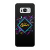 """Чехол для Samsung Galaxy S8, объёмная печать """"Love Space"""" - звезды, космос, вселенная"""