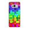 """Чехол для Samsung Galaxy S8, объёмная печать """"яркие краски"""" - подарок, красивый, прикольный"""