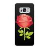 """Чехол для Samsung Galaxy S8, объёмная печать """"розочка"""" - цветы, роза, подарок, прикольная"""