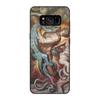 """Чехол для Samsung Galaxy S8, объёмная печать """"Ад (Божественная комедия)"""" - картина, змей, божественная комедия, кох"""