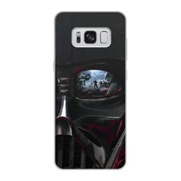 """Чехол для Samsung Galaxy S8, объёмная печать """"Звездные войны"""" - кино, фантастика, star wars, звездные войны, дарт вейдер"""