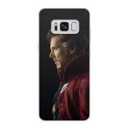 """Чехол для Samsung Galaxy S8, объёмная печать """"Доктор Стрэндж"""" - marvel, мстители, марвел, доктор стрэндж, doctor strange"""
