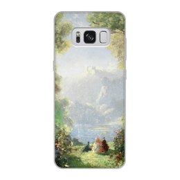"Чехол для Samsung Galaxy S8, объёмная печать ""Дворец грёз (Томас Эдвин Мостин)"" - картина, живопись, мостин, романтизм"