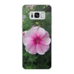 """Чехол для Samsung Galaxy S8, объёмная печать """"Цветущая долина"""" - лето, алтай, горный алтай, цветущая долина, долина цветов"""