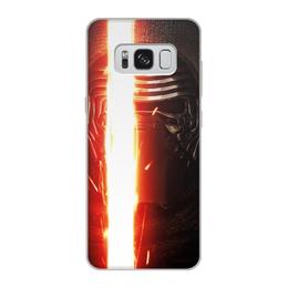 """Чехол для Samsung Galaxy S8, объёмная печать """"Звездные войны - Кайло Рен"""" - кино, фантастика, star wars, звездные войны, дарт вейдер"""