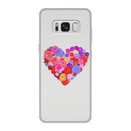 """Чехол для Samsung Galaxy S8, объёмная печать """"День всех влюбленных"""" - любовь, день святого валентина, валентинка, i love you, день влюбленных"""