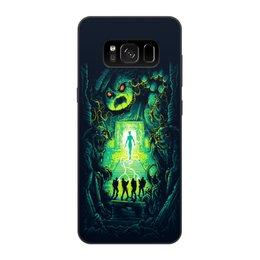 """Чехол для Samsung Galaxy S8, объёмная печать """"Ghost busters"""" - мультфильм, кино, фантастика, сказка, охотники за приведениями"""