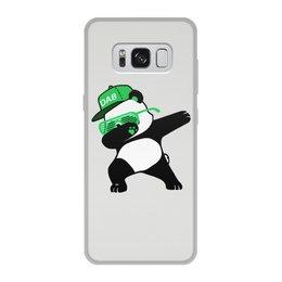"""Чехол для Samsung Galaxy S8, объёмная печать """"Dab Panda """" - животные, панда, panda, дэб, dab"""