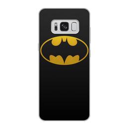 """Чехол для Samsung Galaxy S8, объёмная печать """"бэтмен (1)"""" - бэтмен, бетмен"""