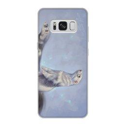 """Чехол для Samsung Galaxy S8, объёмная печать """"Хорьки"""" - арт, животные, рисунок, иллюстрация"""