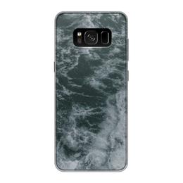 """Чехол для Samsung Galaxy S8, объёмная печать """"Морские прогулки"""" - лето, море, волны, отпуск, морская прогулка"""
