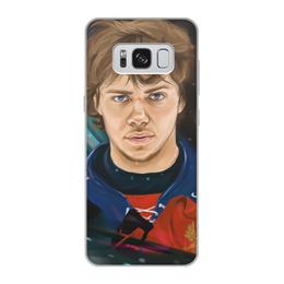 """Чехол для Samsung Galaxy S8, объёмная печать """"Артемий Панарин"""" - хоккей, нхл, сборная россия по хоккею, артемий панарин"""