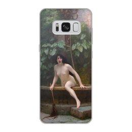 """Чехол для Samsung Galaxy S8, объёмная печать """"Истина, выбирающаяся из колодца (Жан-Леон Жером)"""" - картина, академизм, живопись, ню, жером"""