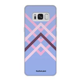 """Чехол для Samsung Galaxy S8, объёмная печать """"Графика"""" - красный, графика, авторский дизайн, вкусные радости"""