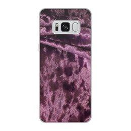"Чехол для Samsung Galaxy S8, объёмная печать ""Бархат"" - бархат"