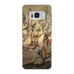 """Чехол для Samsung Galaxy S8, объёмная печать """"Фюмаж"""" - классика"""