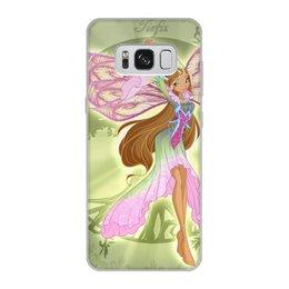 """Чехол для Samsung Galaxy S8, объёмная печать """"Флора"""" - девушки, женщины"""