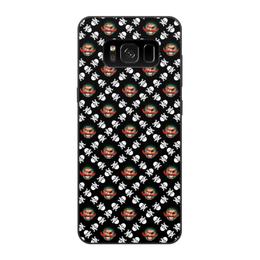 """Чехол для Samsung Galaxy S8, объёмная печать """"Бармалей"""" - череп, пираты, кости, пират, бармалей"""