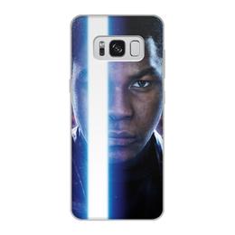 """Чехол для Samsung Galaxy S8, объёмная печать """"Звездные войны - Финн"""" - кино, фантастика, star wars, звездные войны, дарт вейдер"""