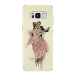 """Чехол для Samsung Galaxy S8, объёмная печать """"День Святого Валентина"""" - настроение, картина, винтаж, 14фев, harrison fisher"""