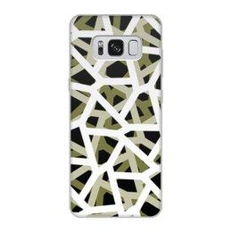 """Чехол для Samsung Galaxy S8, объёмная печать """"Empty"""" - камуфляж, camo, тактический"""