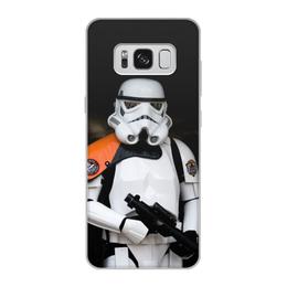 """Чехол для Samsung Galaxy S8, объёмная печать """"Звёздные войны"""" - star wars, звёздные войны, кино"""