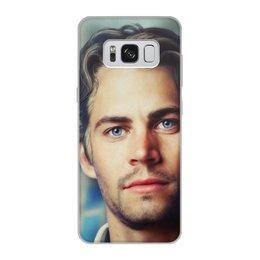"Чехол для Samsung Galaxy S8, объёмная печать ""Пол Уокер Paul Walker"" - форсаж, актер, пол уокер, paul walker, брайн оконнер"
