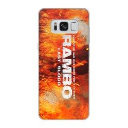 "Чехол для Samsung Galaxy S8, объёмная печать ""Rambo"" - рембо, боевик, rambo, sylvester stallone, сильвестер сталлоне"