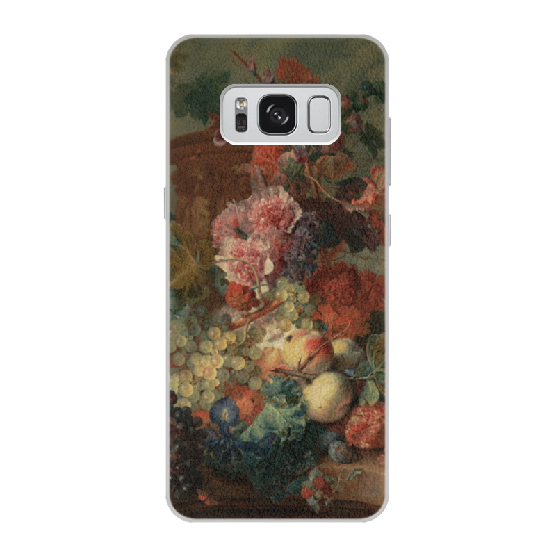 Чехол для Samsung Galaxy S8 кожаный Printio Цветы (ян ван хёйсум) ян ван хейсум