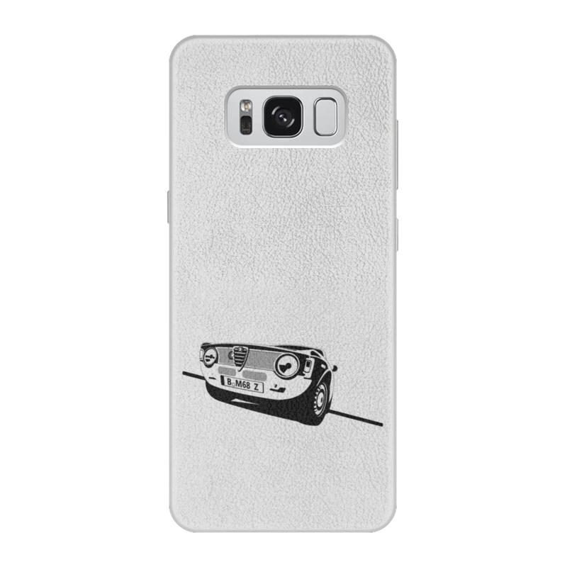 Чехол для Samsung Galaxy S8 кожаный Printio Retro alfa romeo racing наклейки tony 2 74 alfa romeo mito 147 156 159 166 giulietta gt