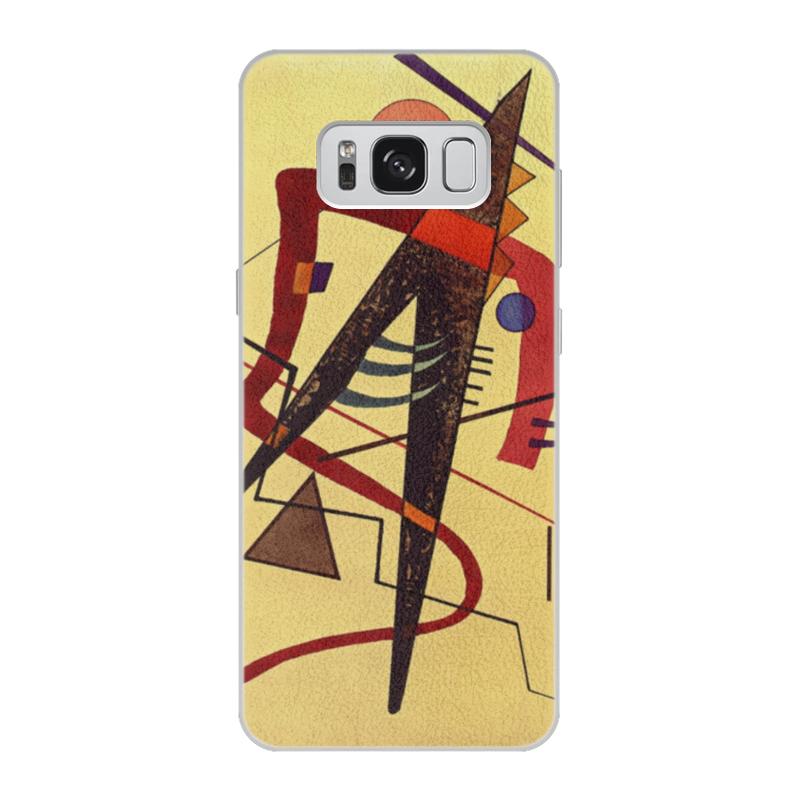 Чехол для Samsung Galaxy S8 кожаный Printio Тепло (пауль клее) чехол для samsung galaxy s5 printio лесные ведьмы пауль клее