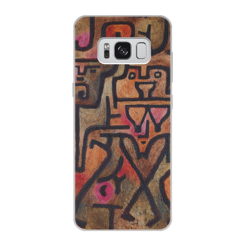 Чехол для Samsung Galaxy S8 кожаный Printio Лесные ведьмы (пауль клее) чехол для samsung galaxy s5 printio лесные ведьмы пауль клее