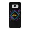 """Чехол для Samsung Galaxy S8 кожаный """"Love Space"""" - звезды, космос, вселенная"""