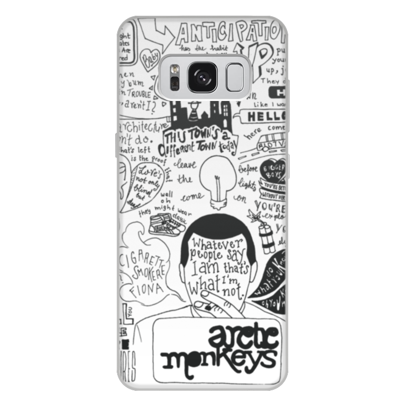 Чехол для Samsung Galaxy S8 Plus, объёмная печать Printio Arctic monkeys аксессуар чехол для samsung galaxy s8 plus pero soft touch black prstc s8pb