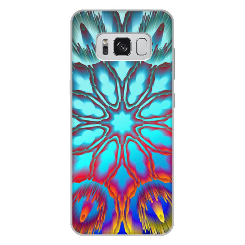 Чехол для Samsung Galaxy S8 Plus, объёмная печать Printio Нирвана чехол для samsung galaxy s8 объёмная печать printio cycles perfecta альфонс муха