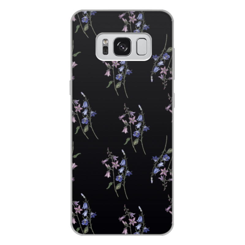 Чехол для Samsung Galaxy S8 Plus, объёмная печать Printio Black watercolor аксессуар чехол накладка для samsung galaxy s8 plus gecko silicone black s geska sam s8 plus bl