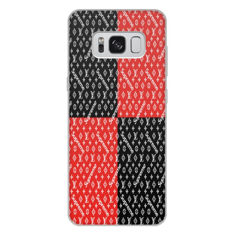 лучшая цена Чехол для Samsung Galaxy S8 Plus, объёмная печать Printio Supreme