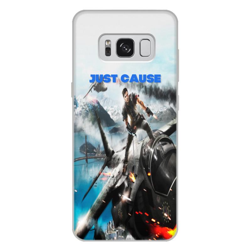 Чехол для Samsung Galaxy S8 Plus, объёмная печать Printio Just cause чехол для samsung galaxy s8 объёмная печать printio модерн